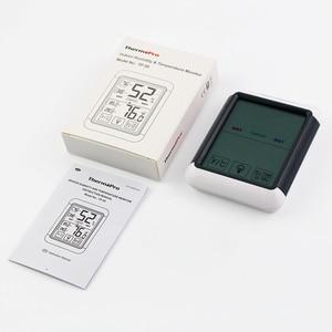 Image 5 - Thermopro タッチスクリーンとバックライトと TP55 デジタル湿度計温度計室内温度計湿度温度センサー