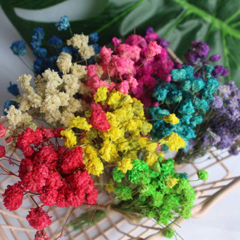 1 piezas conejo blanco hierba Artificial flores arreglos de flores de la boda decoración de la fiesta de caja de regalo arte