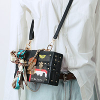 Women Box Bag Small Square Louis Bags Design Chain Shoulder Bags Handbags And Purse Women Crossbody