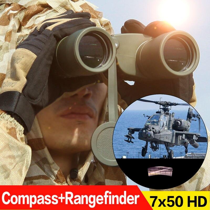 лучшая цена Waterproof 7x50 Binoculars Telescope For Hunting Waterproof OS3-0043