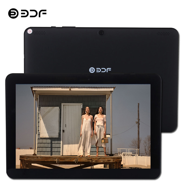 BDF Tablet 10 1 Inch Tablet Pc Android 7 0 Quad Core 1GB 32GB Tablet Laptop
