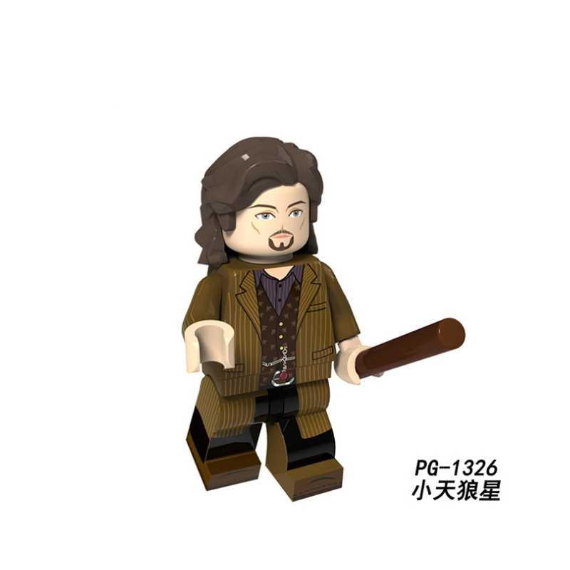 Logoings Figures Building Blocks Harry Potter Voldemort Luna George Weasley Frette Ninjagoed Bricks Toys For Children PG8155