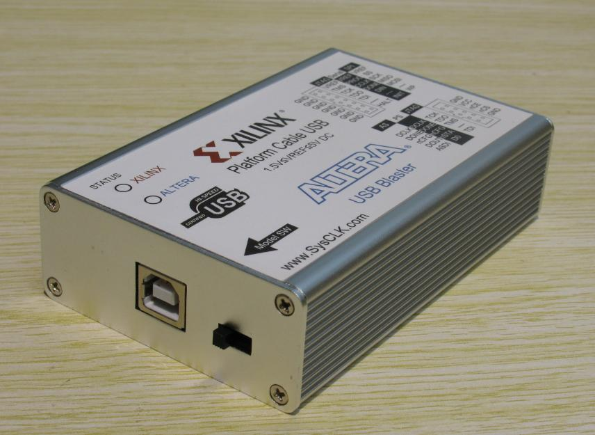 цена на Xilinx Platform Cable USB ALTERA USB Blaster Two in One Download Line