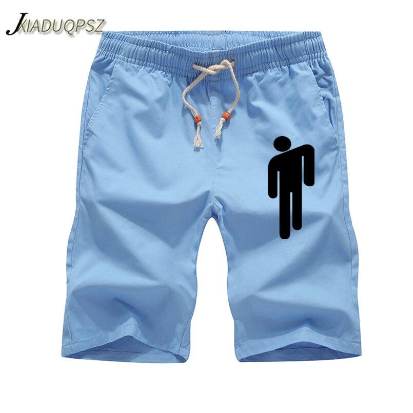 2019 Summer Mens Shorts Billie Eilish Letters Printed Casual Fashion Jogger Knee Length Sweatpants Man Fitness Drawstring Shorts Casual Shorts Aliexpress