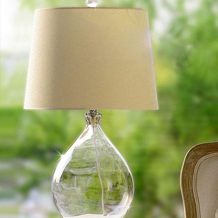 где купить  Modern Loft Vintage Industrial American Country Retro Fabric Glass Edison Table Lamp Study Bedside Reading Home Decor Lighting  по лучшей цене