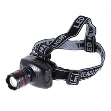 LumiParty LED Light Cap Headlamp 3W LED Headlamp Flashlight Zoomable Headlight Lamp Outdoor camping light