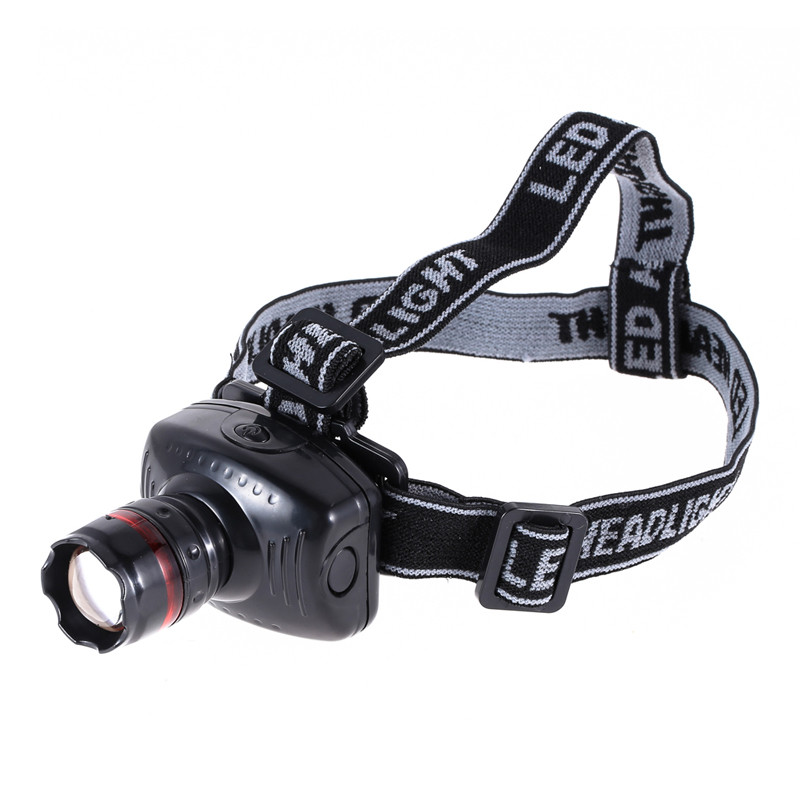 3 W LED Headlamp Flashlight Zoomable Headlight Lamp Outdoor camping light LED Light Cap Headlamp