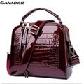 Ganador new arrival women messenger bags women handbags pu leather handbags single shoulder bag shell bags bolsas pouch DH0160