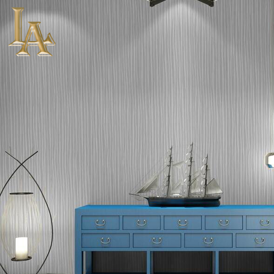 Fashion Grey 3D Striped Wallpaper For Walls For Bedroom Living room Sofa TV Background Designs Modern Home Wall paper Rolls egonery new sweet lady round toe faux leather slip air spring dress women pumps heels shoes top size us 12