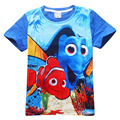 Newest Boys T Shirt Short-sleeved T-shirts For Kids Finding Dory Printing Children Cartoon Kids Boys Girls Child's Clothes