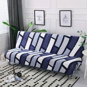 Image 4 - All Inclusive พับโซฟาเตียงยืดที่นอนไม่มีที่เท้าแขนพับโซฟาเตียง 160 190 ซม.cubre โซฟา