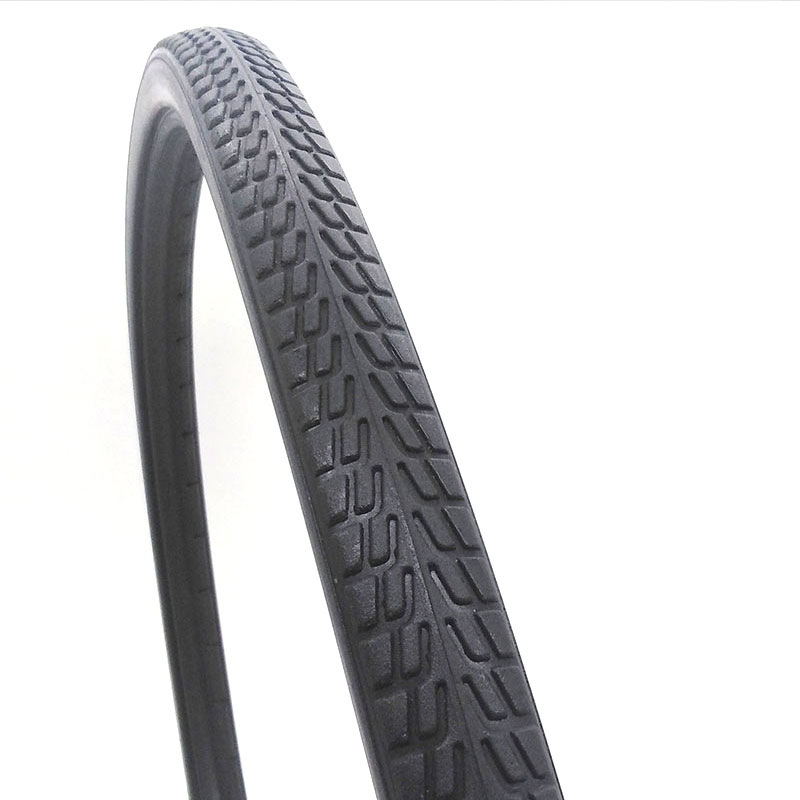 <font><b>24</b></font> *1 3/8 Bicycle Tire Shared Bicycle Lithium-ion Bicycle <font><b>24</b></font>-inch Wheelchair PU Inflatable Solid Tire Mountain Bike Tires image