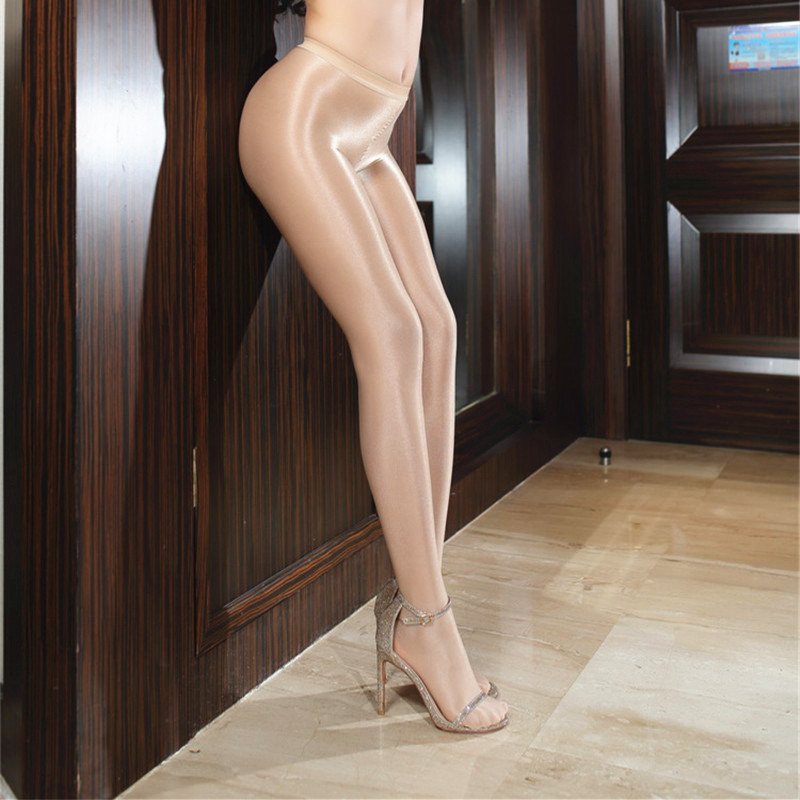 70D Women Oil Shiny Pantyhose Sexy Strumpfhose Glitter Collants Ballet Dance Tights Collant Femme Pantimedias 0808 Колготки