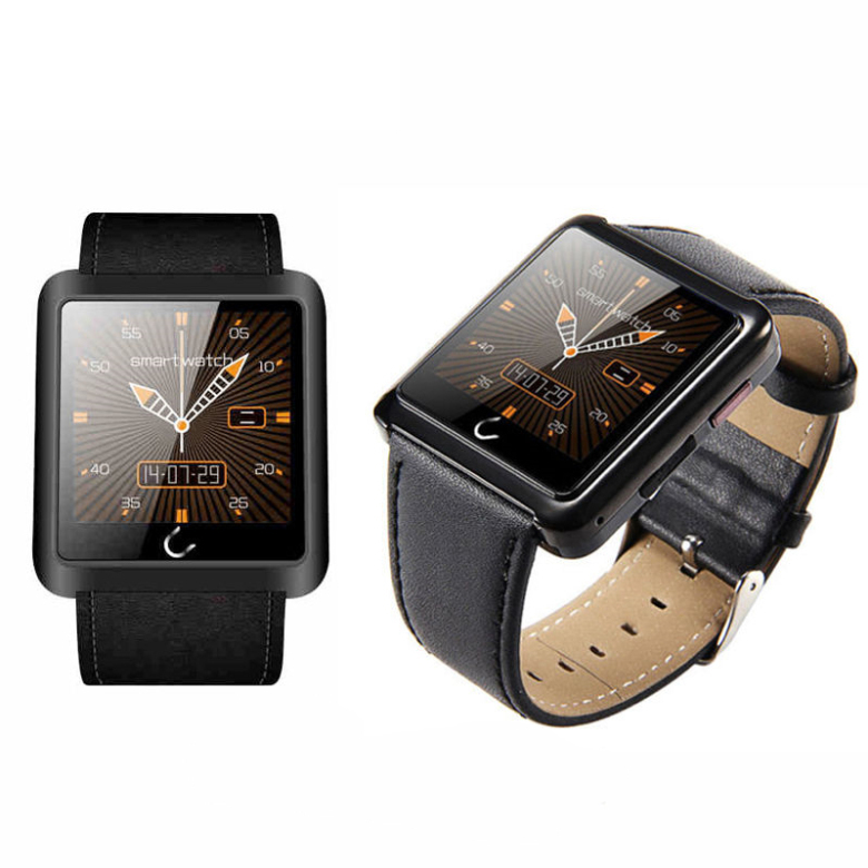 ФОТО New Bluetooth Smart Watch U10L Touch Screen Life Waterproof Sport WristWatch For Samsung iPhone HTC Android IOS Smartphone