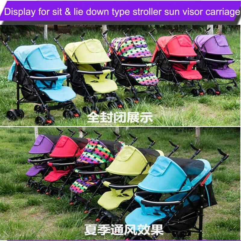 Солнцезащитный козырек для детской коляски, защитный козырек, аксессуары для коляски 5