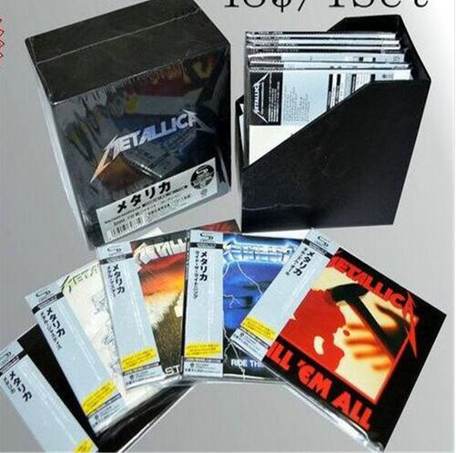 Japanese version of the heavy metal band Metallica Ultimate Deluxe Edition 13CD metallica cd