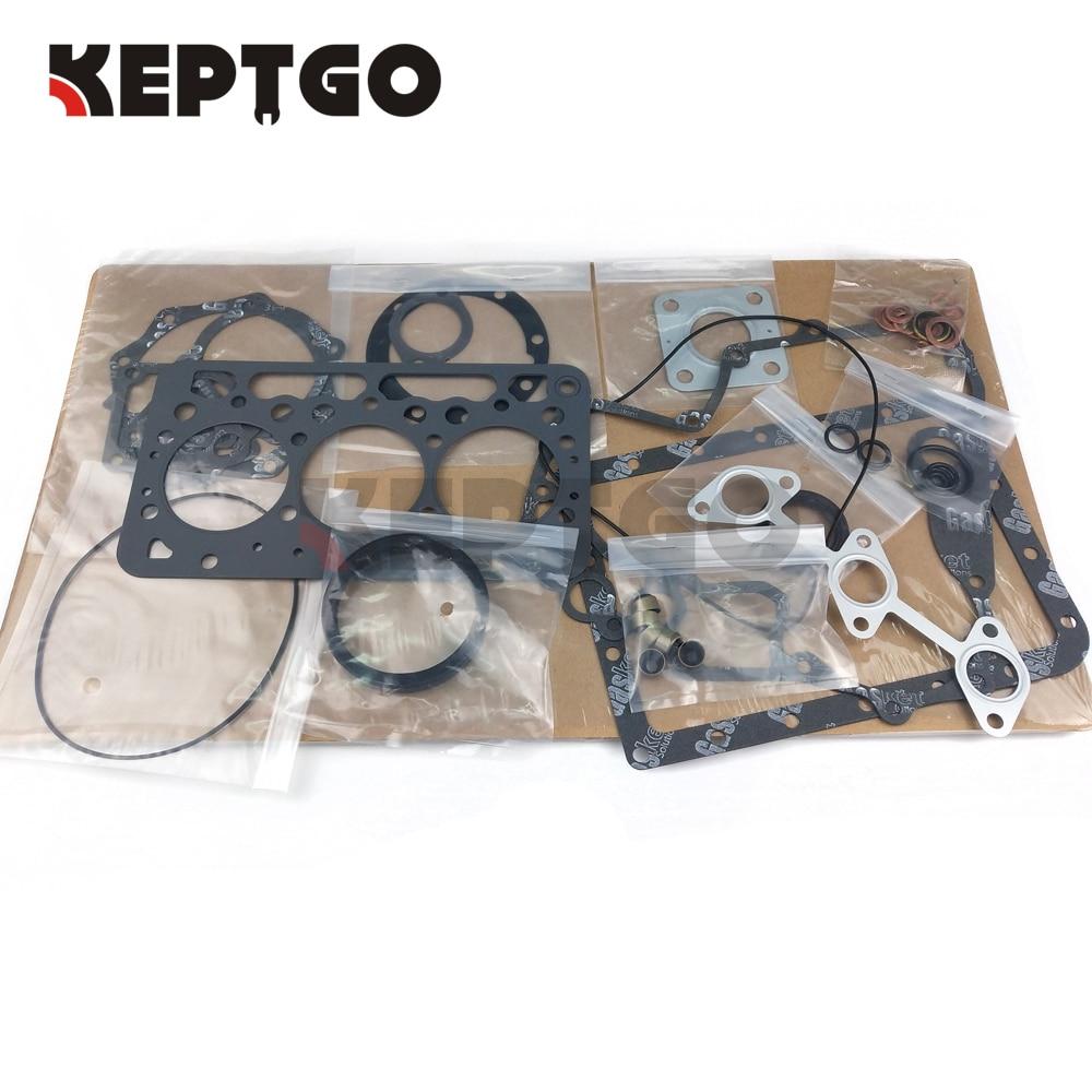 Kit del reacondicionamiento Junta Completa Junta Kit Para Motor Kubota Z602 Nuevo