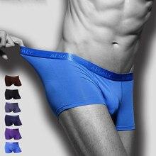 De hecho de algodón de alta calidad para hombres, ropa interior cómoda transpirable ropa interior cuecas masculina Boxer Shorts, calzoncillos
