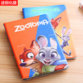 Ultra Slim Zootopia Nick Judy Sloth Painted Leather Case Flip Cover For Apple iPad 2 3 4 Tablet Protective case skins