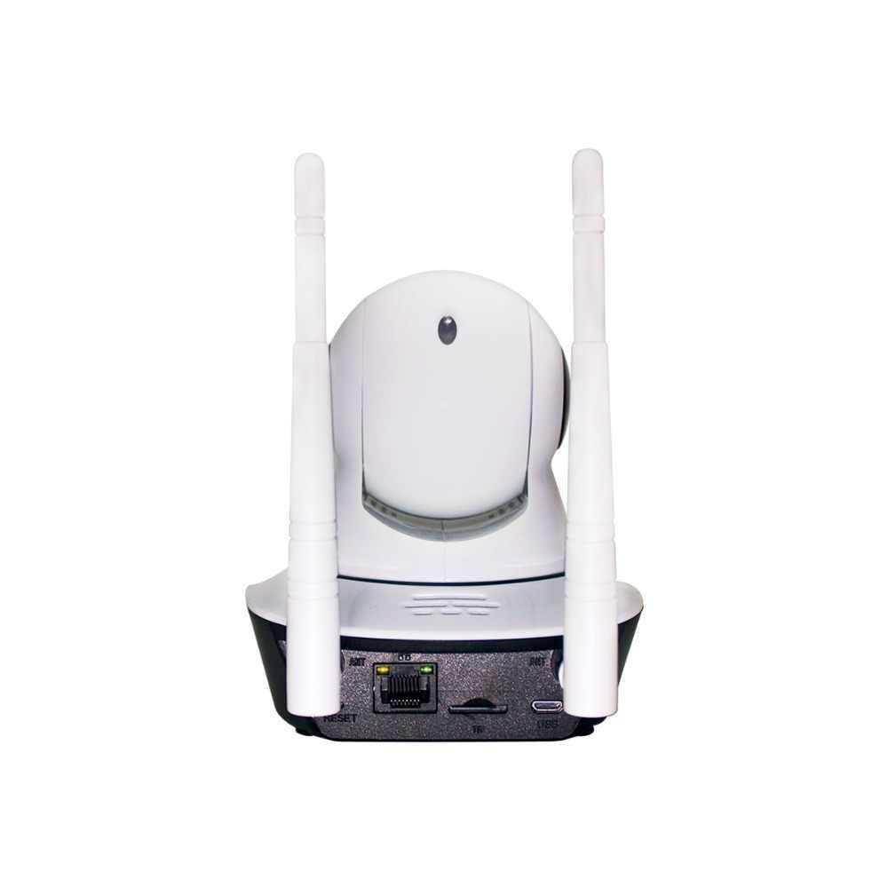 ESCAM G02 هوائي مزدوج 720P عموم/إمالة واي فاي IP كاميرا تعمل بالأشعة فوق الحمراء دعم ONVIF ماكس تصل إلى 128GB شاشة عرض فيديو