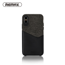REMAX Hiram Series Case with Card Pocket for iPhone X