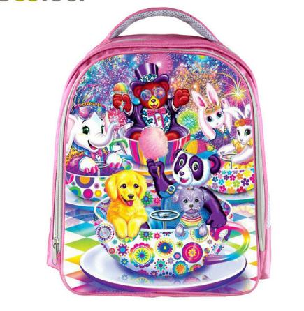 mochilas de unicornio Rainbow Horse Backpack Kids School Bags for Boys Girls 13 Inch