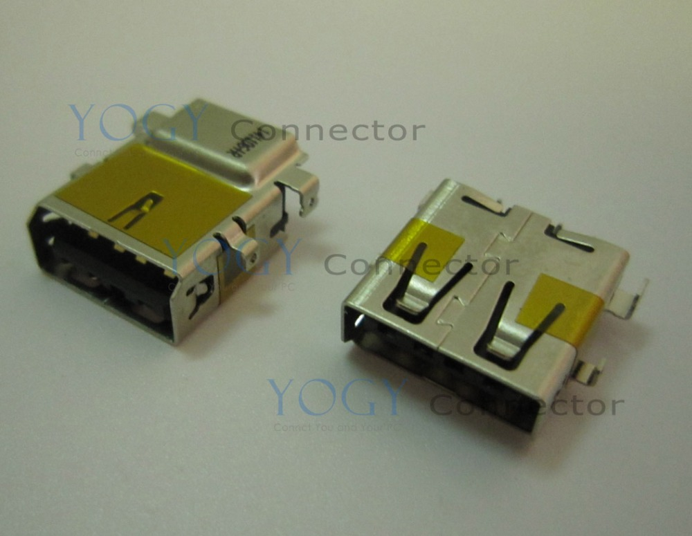 10pcs USB Jack fit for HP 15-AC, Lenovo G50 G50-45 Series and other laptop motherboard usb female connector port