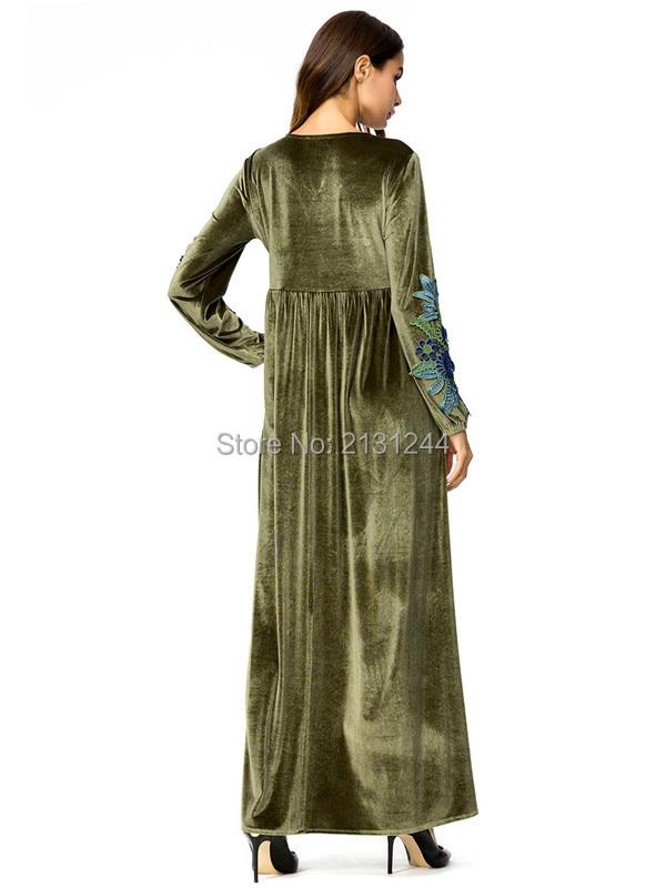 long sleeve loose dress604