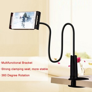 Image 2 - Long Arm Tablet PC Stand Rotation Full Metal Lazy Bed Table Bracket 4 10.6 inch Smartphone Holder for iPad Air Mini 1234 Holder
