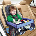 Multifunctional Baby Car Play Tray Table Waterproof On The Go Snack Tray Easy to clean Automobile Laptop Stand