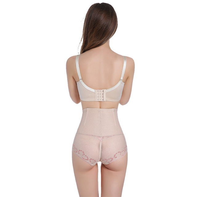 CYHWR Sexy High Waist Breathable Thin Lace Control Panties Body Shaper for Women