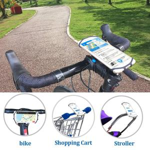 Image 4 - SPORTLINK Bike Phone Holder Bicycle Mobile Cellphone Holder Motorcycle Phone mount For iPhone Xiaomi  huawei Samsung