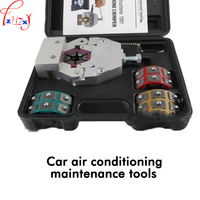 1pc FS 7843 Auto air conditioning repair and compression tools hand hose pressure tool to repair air conditioning pipe