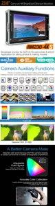 "Image 4 - Lilliput BM230 4KS Monitor de Director 4K de 23,8 "", HDR, 3D LUT, Color, 3840 2160 x, SDI, HDMI, Tally, VGA"
