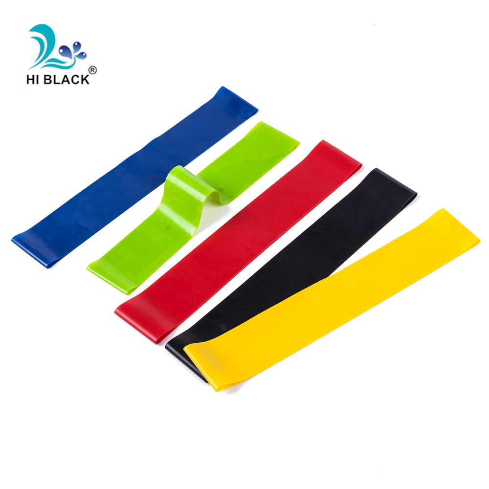 Tension Resistance Bands Workout Rubber Loop Crossfit Strength Pilate Fitness Equipment Training Expander Exercise Elastic Band