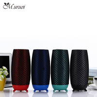 M.uruoi Bluetooth Speaker Bluetooth Wireless Speaker Portable Outdoor Speaker Mini Soundbar For Cell Phones PC With Microphone