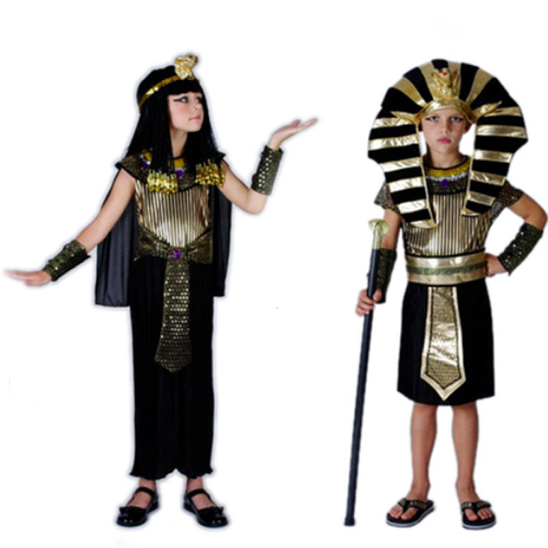 2018 Boy Girl Ancient Egypt Pharaoh Prince Princess Costume Children Kids Egyptian Cosplay Costumes Party Dress Decor Purim-in Boys Costumes from Novelty ...  sc 1 st  AliExpress.com & 2018 Boy Girl Ancient Egypt Pharaoh Prince Princess Costume Children ...