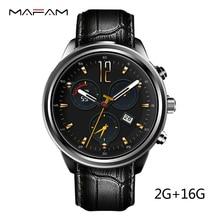 MF5 Aire 3G Reloj Teléfono Inteligente RAM 2 GB ROM 16 GB SIM tarjeta de Frecuencia Cardíaca QuadCore Android 5.1 WIFI GPS Bluetooth Andorid Smartwatch IOS