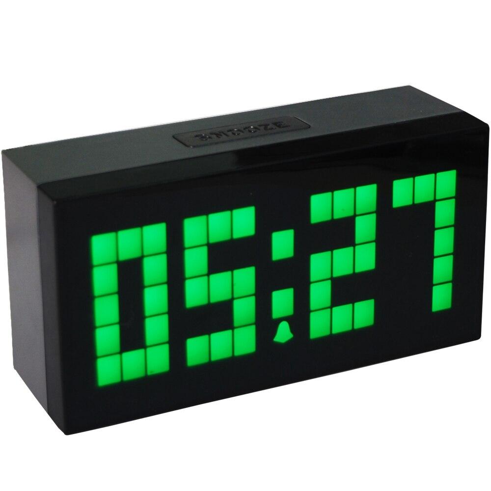KOSDA réveil Saat le calendrier minuterie thermomètre numérique Nixie horloges bureau électronique horloge de bureau Reloj Despertador - 3