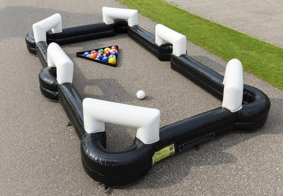(China Guangzhou) Inflatable Slides, Inflatable Castles, Inflatable Billiards Game TOB-24