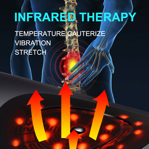 Image 2 - Jinkairui חשמלי מתיחה המותני המותניים מכונה לעיסוי רטט עיסוי תמיכה המותני להקל השדרה מותניים עייפות