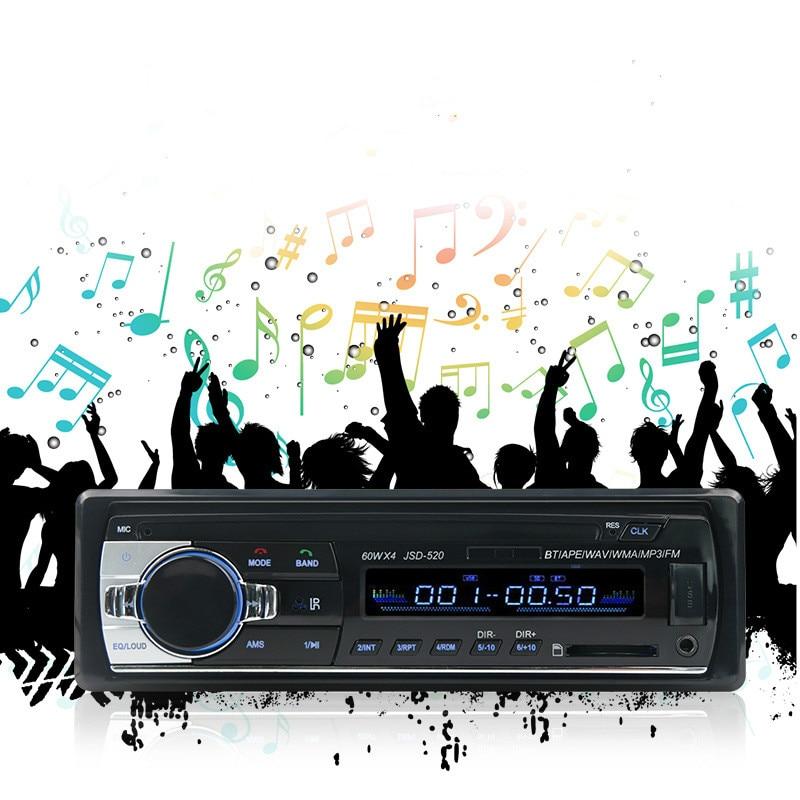APRICOTCAR-31 autoradio mp3FM lecteur support Bluetooth mains libres téléphone FM sans perte musique radio voiture audio voiture CD machine