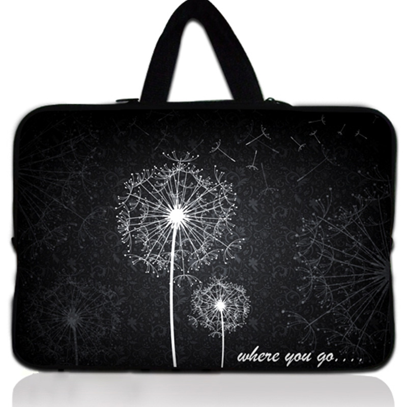 Dandelion Laptop Bags sleeve For Women 17 17.3 17.4 inch Computer Cover Bag For Macbook pro Notebook Case For Dell Hp Acer Asus