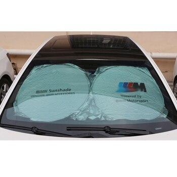 Coche parabrisas parasol para BMW F30 F10 F20 E60 E61 E91 E92 E93 F07 G30 X1 X3 X4 protección visor accesorios de la cubierta