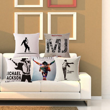 Popularne Michael Jackson Pillows Kupuj Tanie Michael