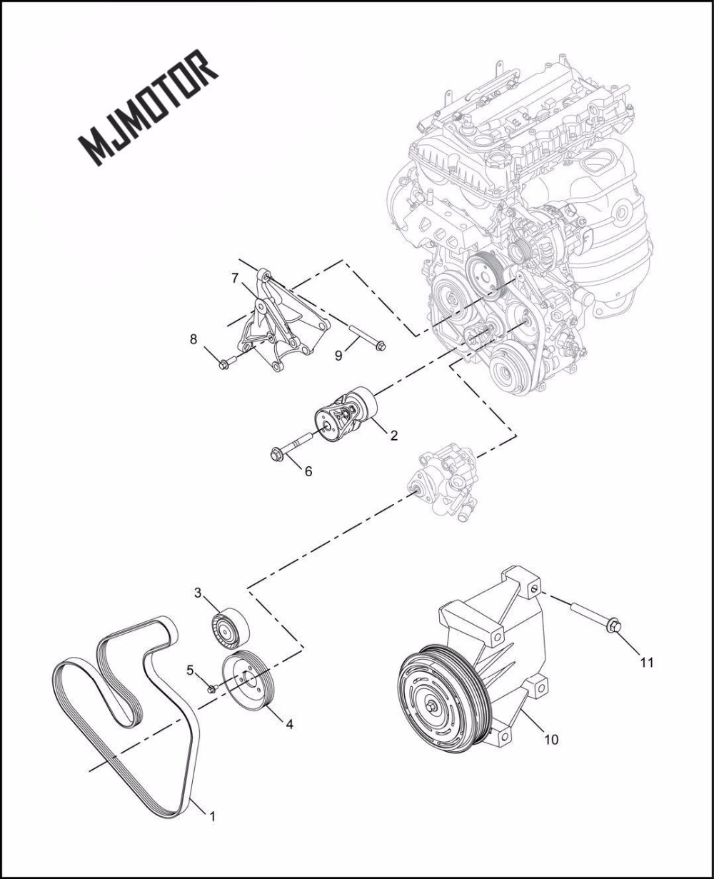 US $22.95  Alternator fan belt Kit Generator tensioner Idler Pulley on daihatsu rocky wiring diagram, bentley wiring diagram, triumph tr4a wiring diagram, mack wiring diagram, willys wiring diagram, acura rl wiring diagram, commercial motor wiring diagram, sterling wiring diagram, packard wiring diagram, volvo wiring diagram, western star wiring diagram, bmw m5 wiring diagram, jaguar xk8 wiring diagram, bmw x3 wiring diagram, winnebago wiring diagram, acura cl wiring diagram, bmw m6 wiring diagram, toyota van wiring diagram, car wiring diagram, evo wiring diagram,