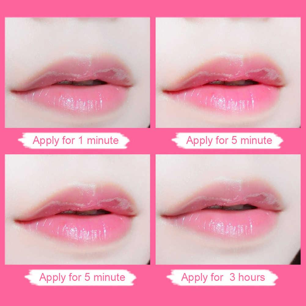 קרח רך תות צבע שפתון התחממות שפתון מעט ורוד רציף טמפרטורת שינוי גבירותיי שינוי צבעים שפתונים