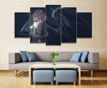 Ghost Blade Angel Princess Anime 5 Piece HD Print Home Painting Wall Art Canvas For Living Decorative