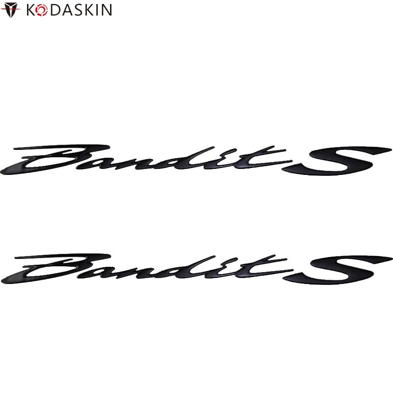 KODASKIN Motorcycle 3D Raise Emblem Stickers Decal for