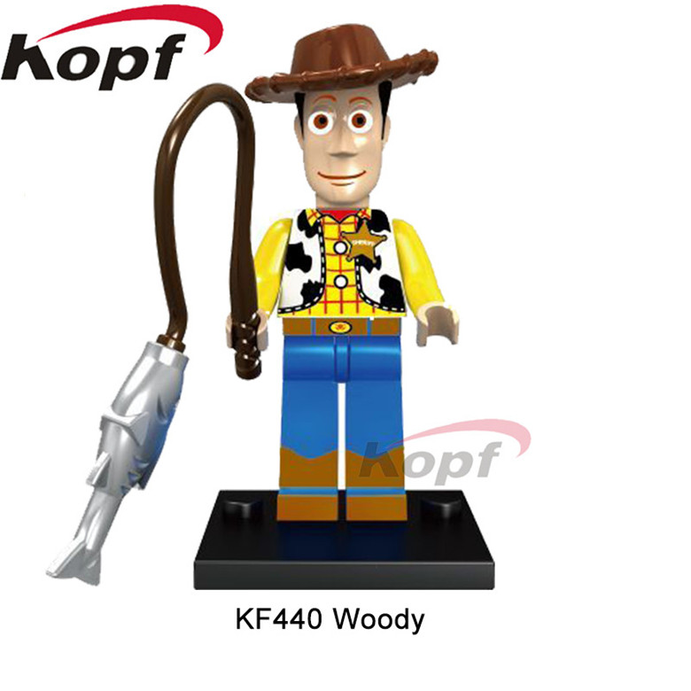 Single Sale Jessie Figures Toy Story Cartoon Woody 39 s Roundup Buzz Lightyear Bricks Building Blocks Children Gift Toys KF440 in Blocks from Toys amp Hobbies